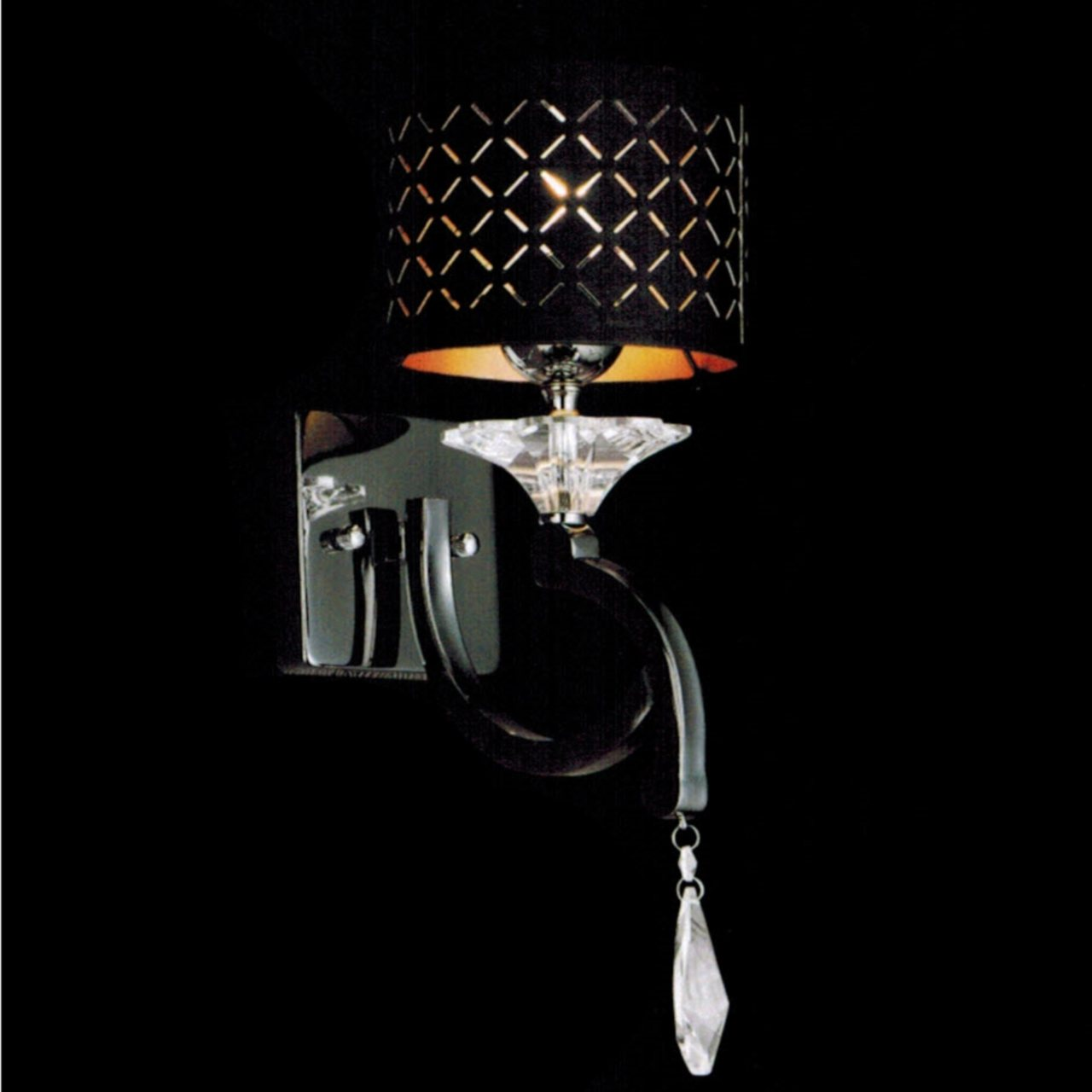Image of: Contemporary Black Sconce Lights