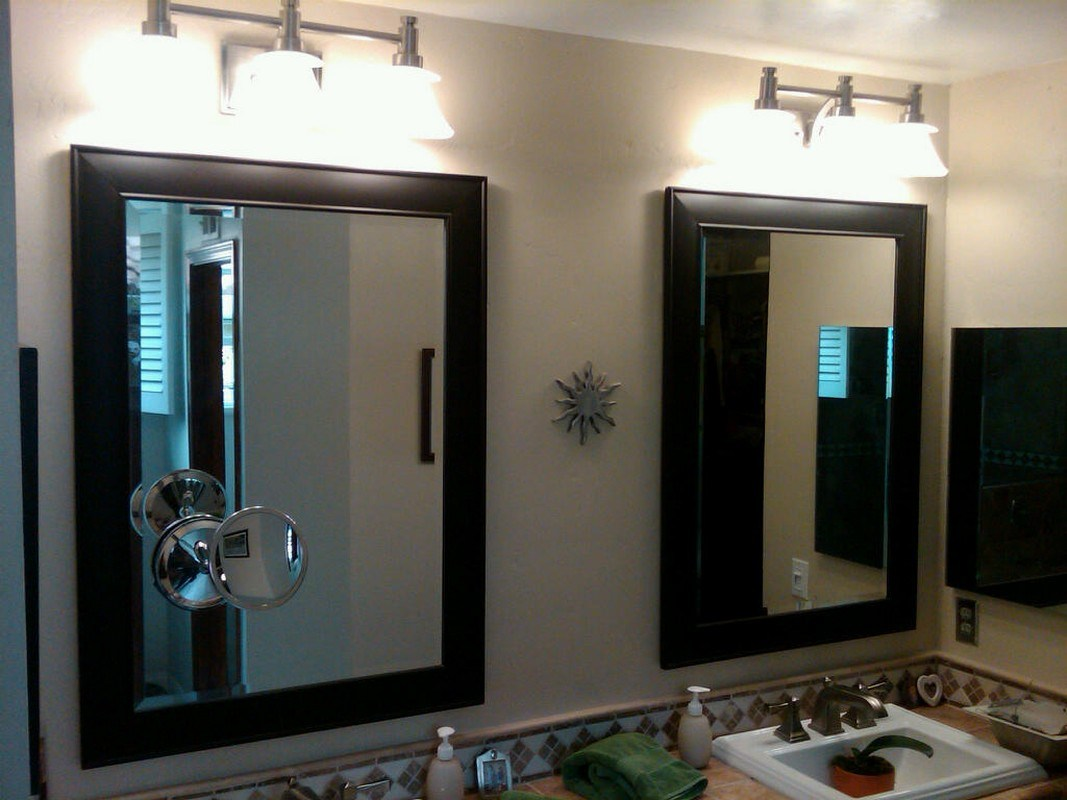 Contemporary Candle Wall Sconces Bathroom