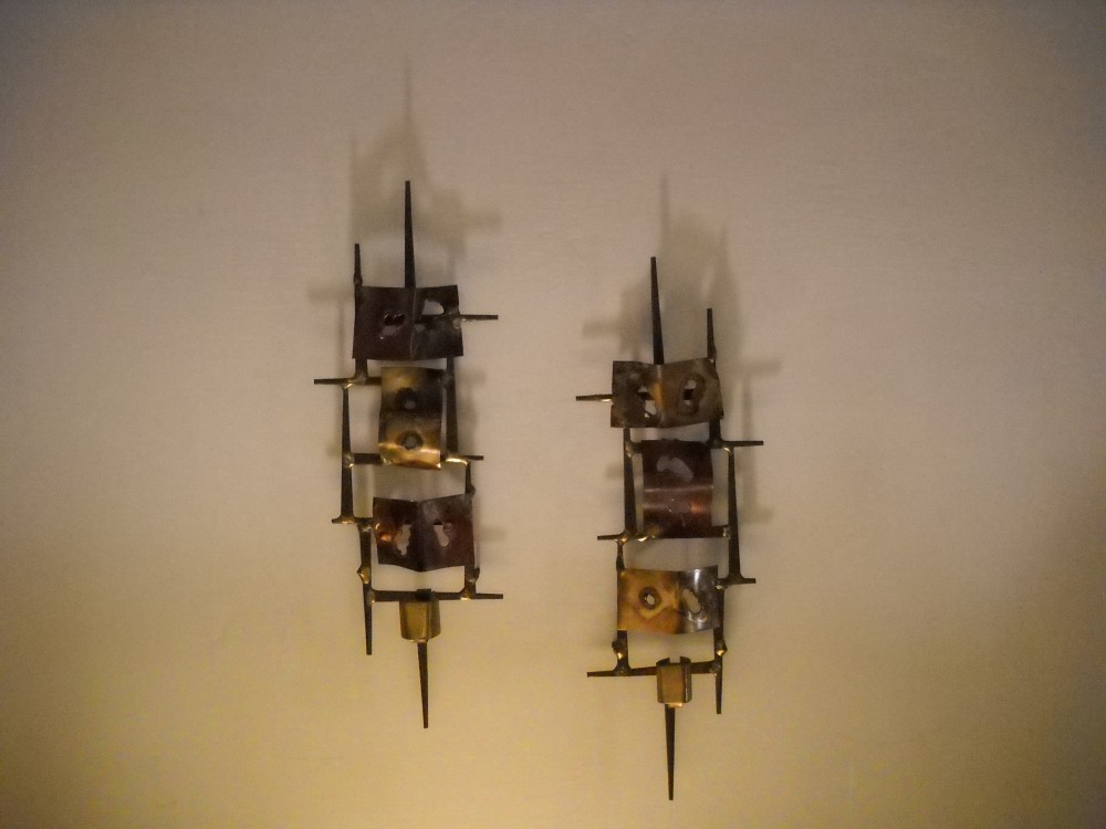 Image of: Contemporary Candle Wall Sconces Design and Style