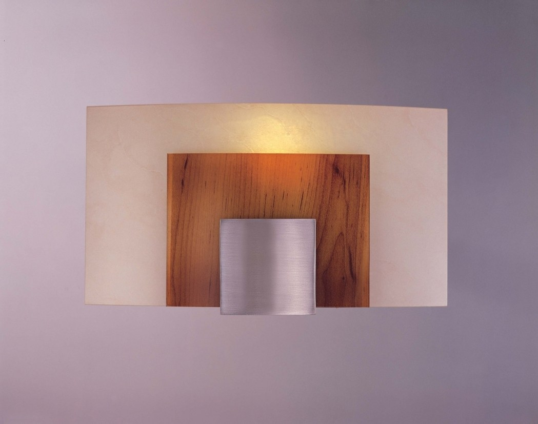 Image of: Contemporary Candle Wall Sconces for Living Room
