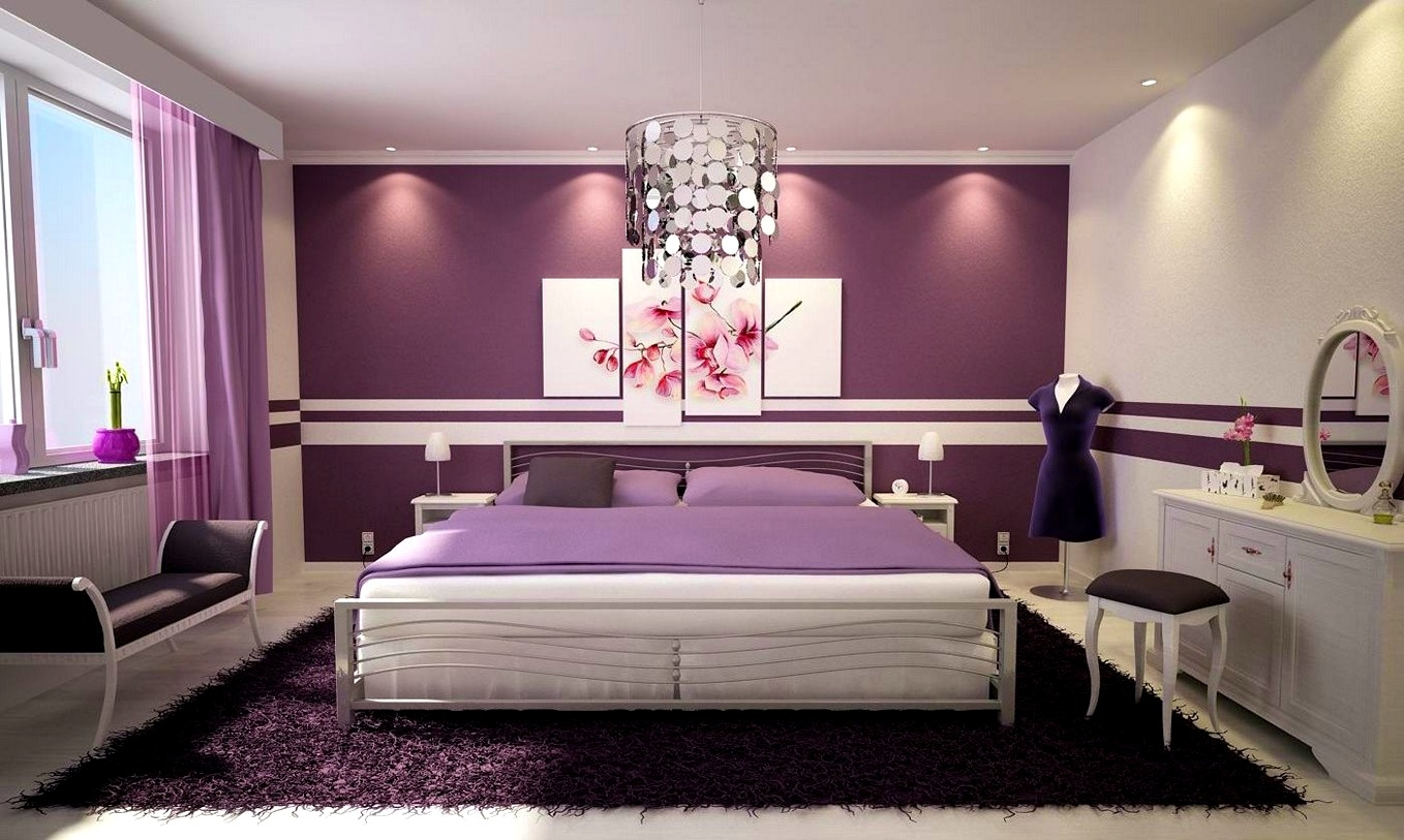 Image of: Contemporary Purple Decorative Pillows