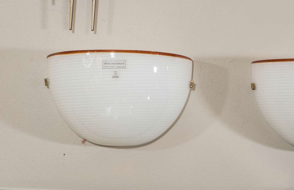 Image of: Cool Mid Century Half Moon Wall Sconce