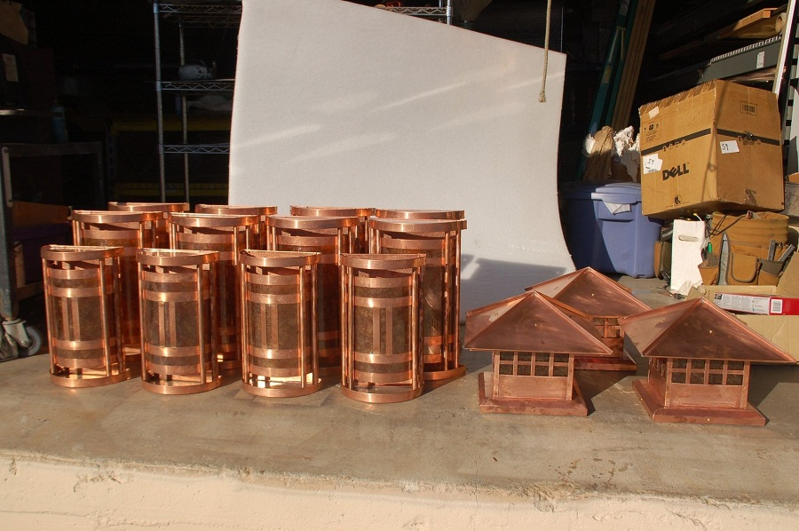 Copper Sconce Custom