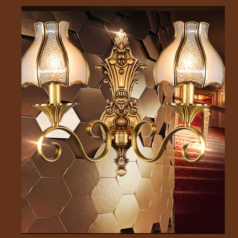 Image of: Copper Sconce Lamps