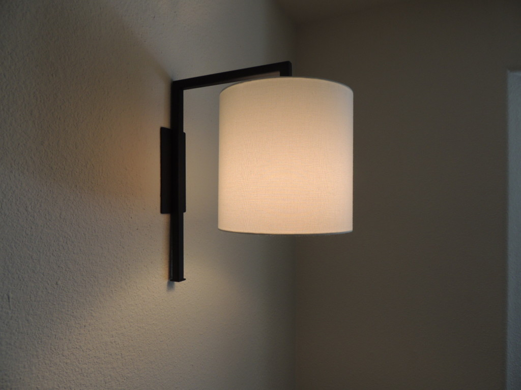 Image of: Corded Wall Sconce Shades