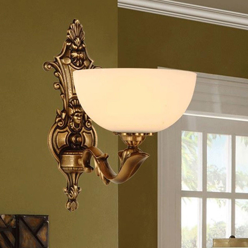 Image of: Corner Sconce Wall