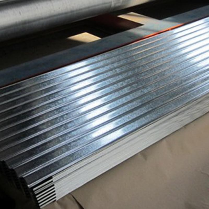 Image of: Corrugated Aluminum Roofing Type