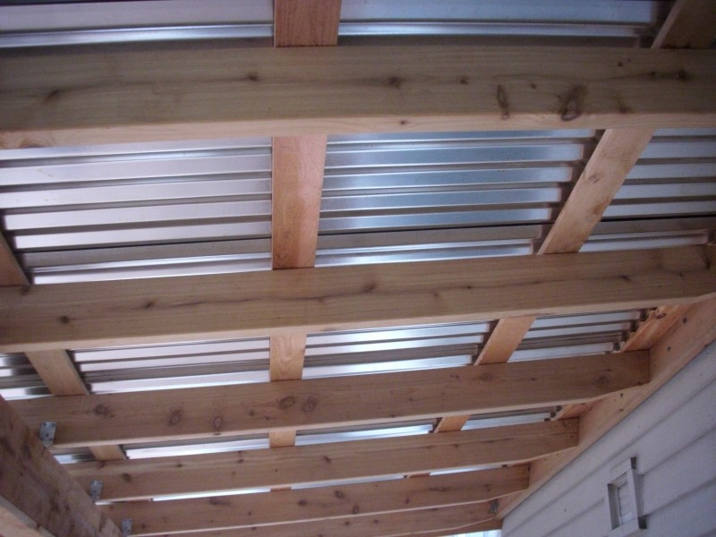 Corrugated Metal Roof Patio