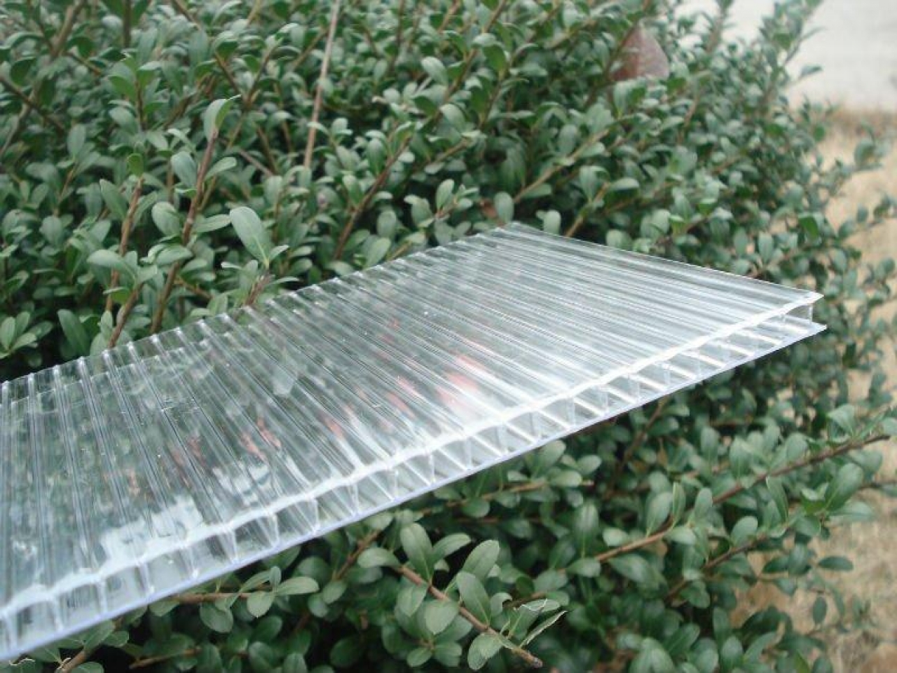 Image of: Corrugated Plastic Roof Panels