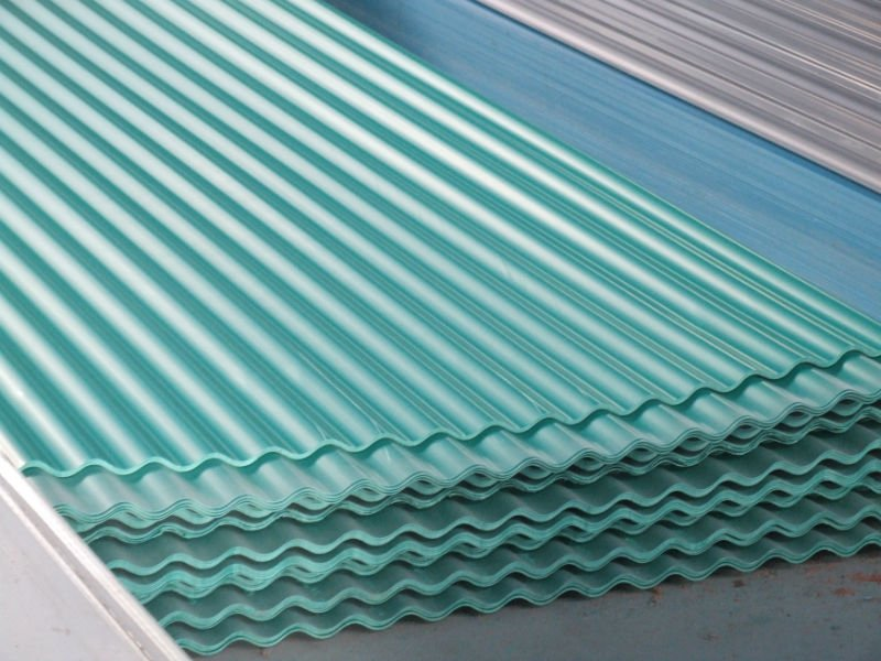 Image of: Corrugated Plastic Roof Sheet