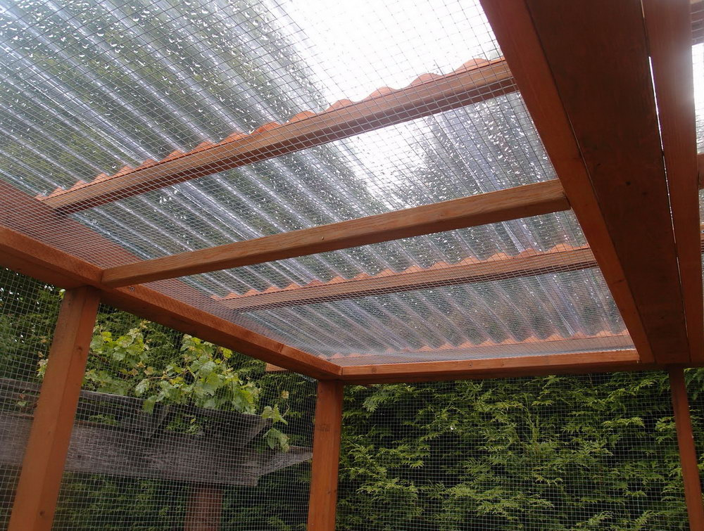 Image of: Corrugated Plastic Roof