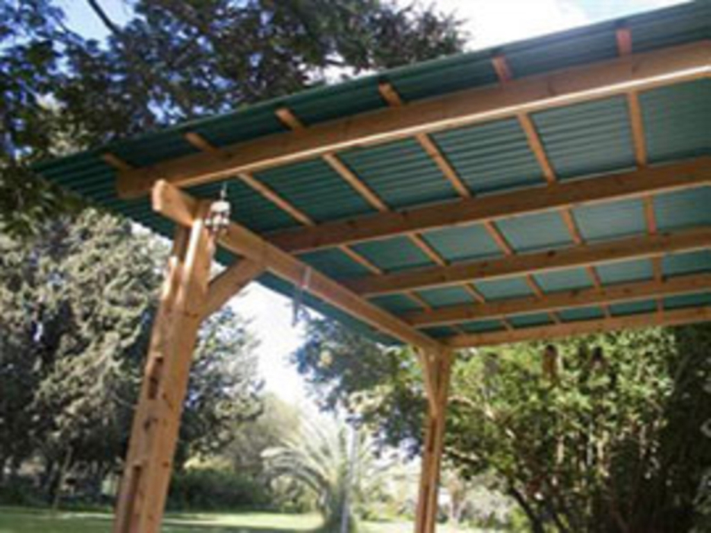 Image of: Corrugated Pvc Roof Panel Metal