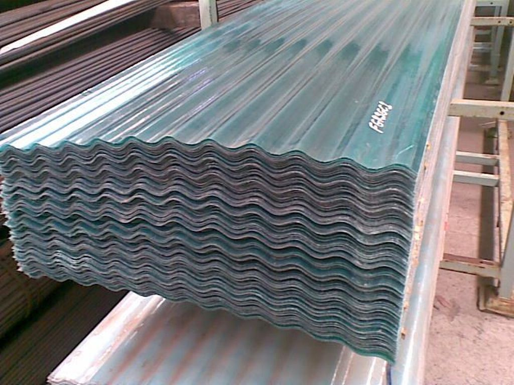 Corrugated Pvc Roof Panel for Greenhouse