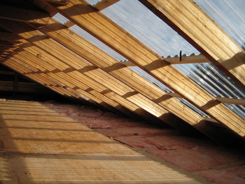Image of: Corrugated Roof Panels House