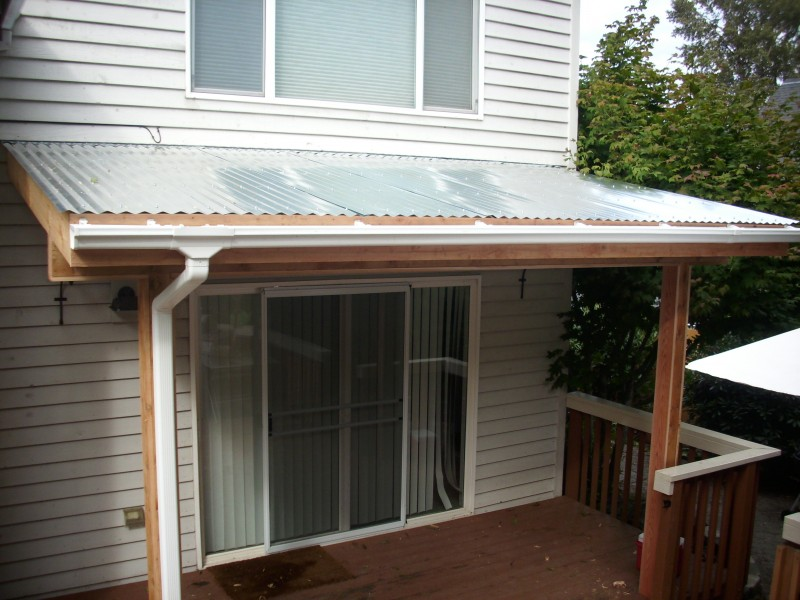 Image of: Corrugated Roof Panels Ideas