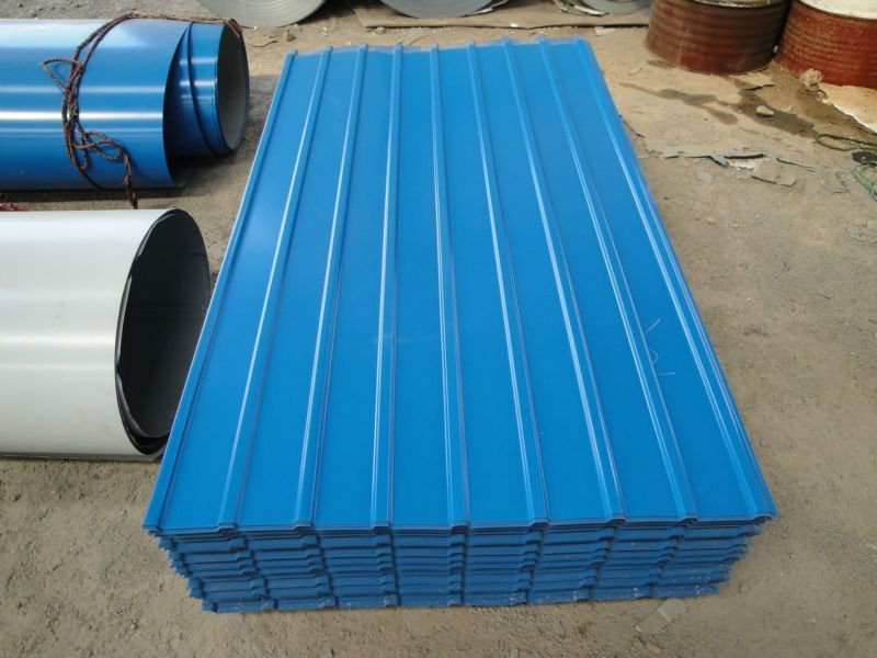 Image of: Corrugated Roofing Sheets Design