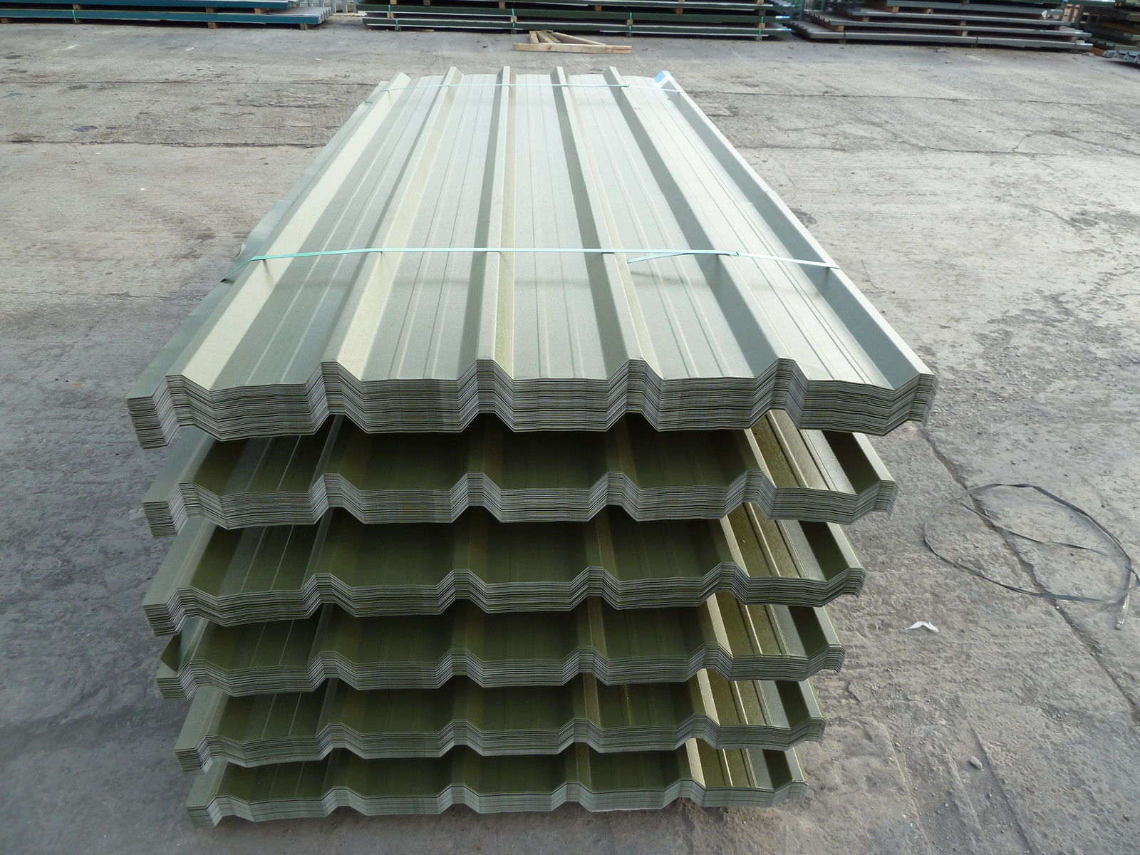 Image of: Corrugated Roofing Sheets Image