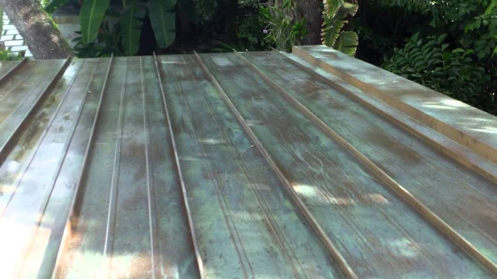 Image of: Cost of Copper Roof Panels