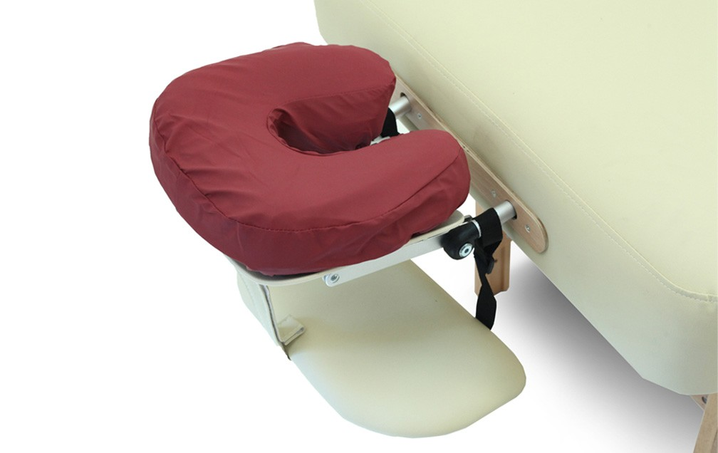 Image of: Cover Massage Pillow Brugundy