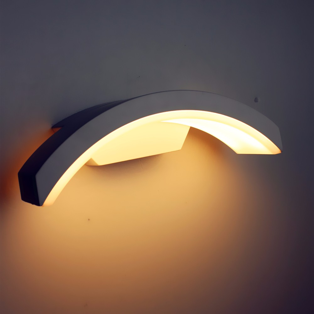 Image of: Cozy Half Moon Wall Sconce