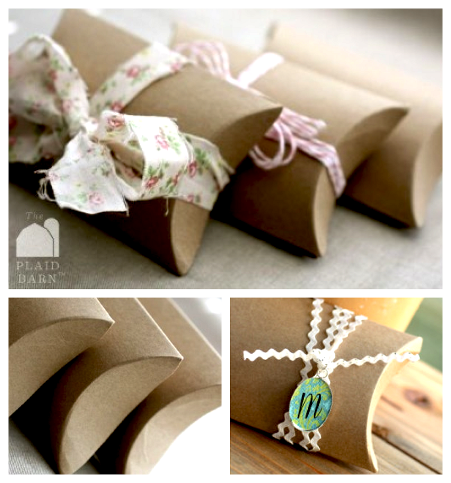 Image of: Craft Pillow Boxes