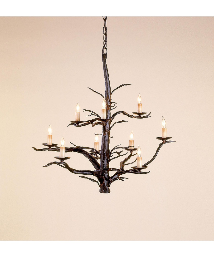 Image of: Currey And Company Sconces Branch