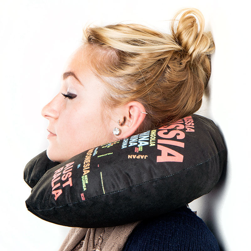 Image of: Custom Travel Neck Pillow
