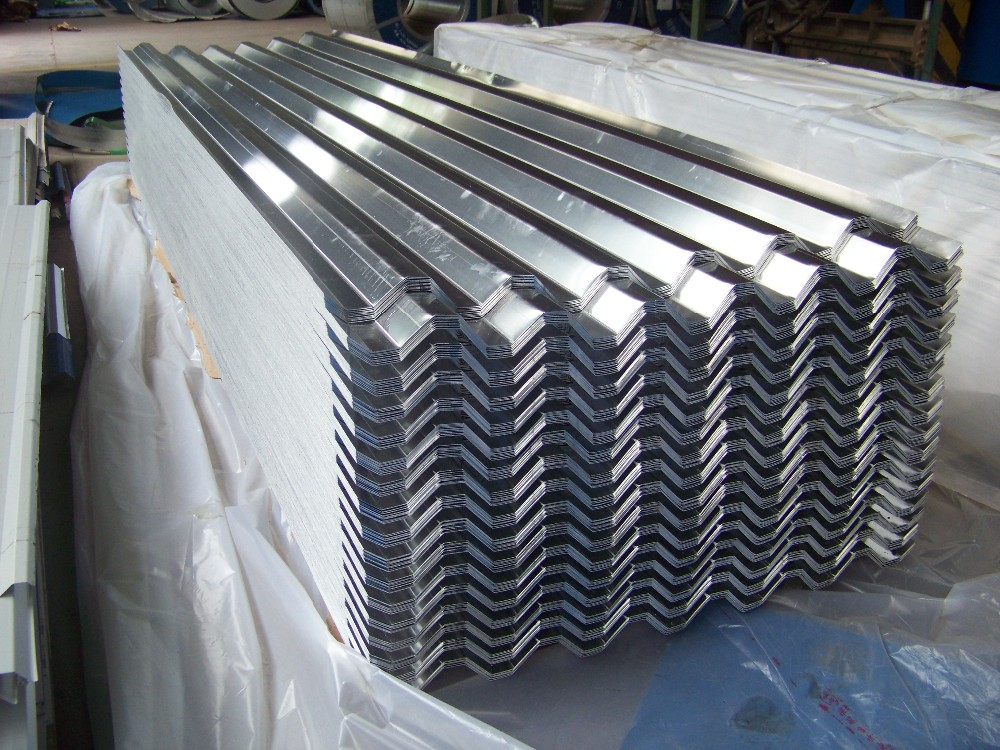 Image of: Customized Corrugated Aluminum Roofing