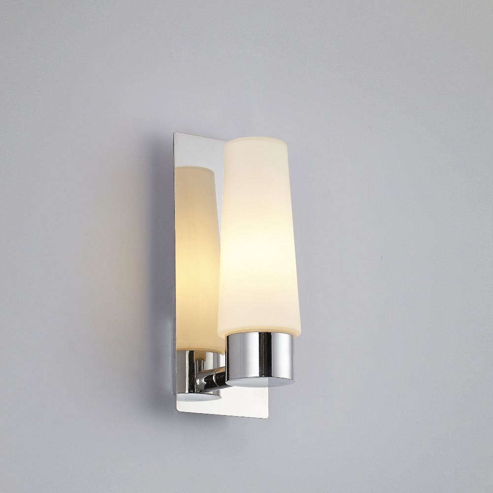 Image of: Cute Chrome Bathroom Sconces