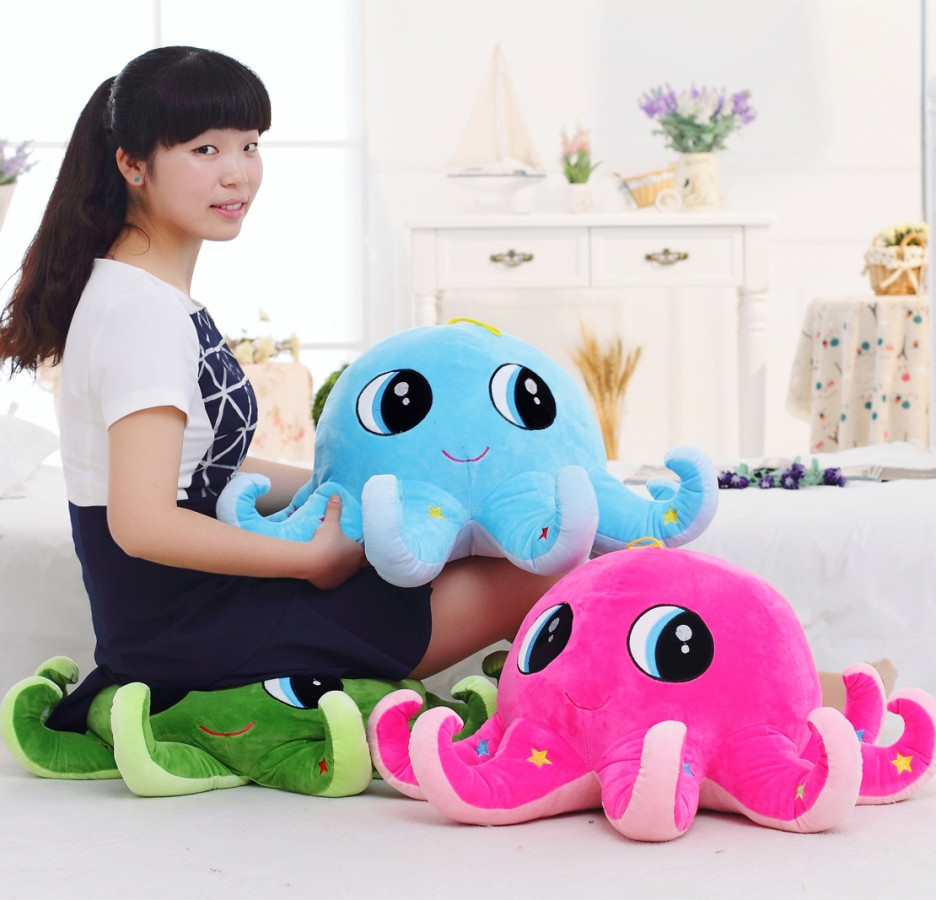 Image of: Cute Octopus Pillow