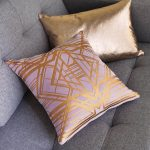 Cute Rose Gold Pillow