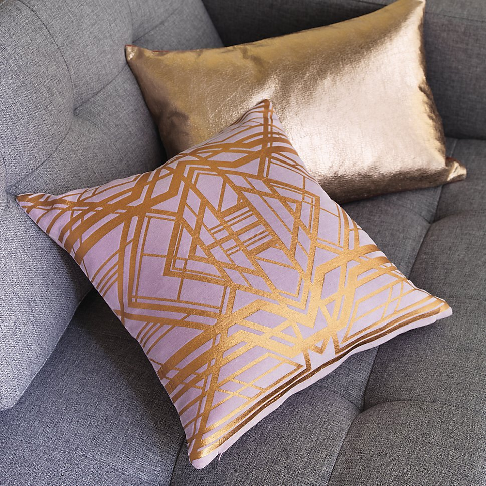 Image of: Cute Rose Gold Pillow