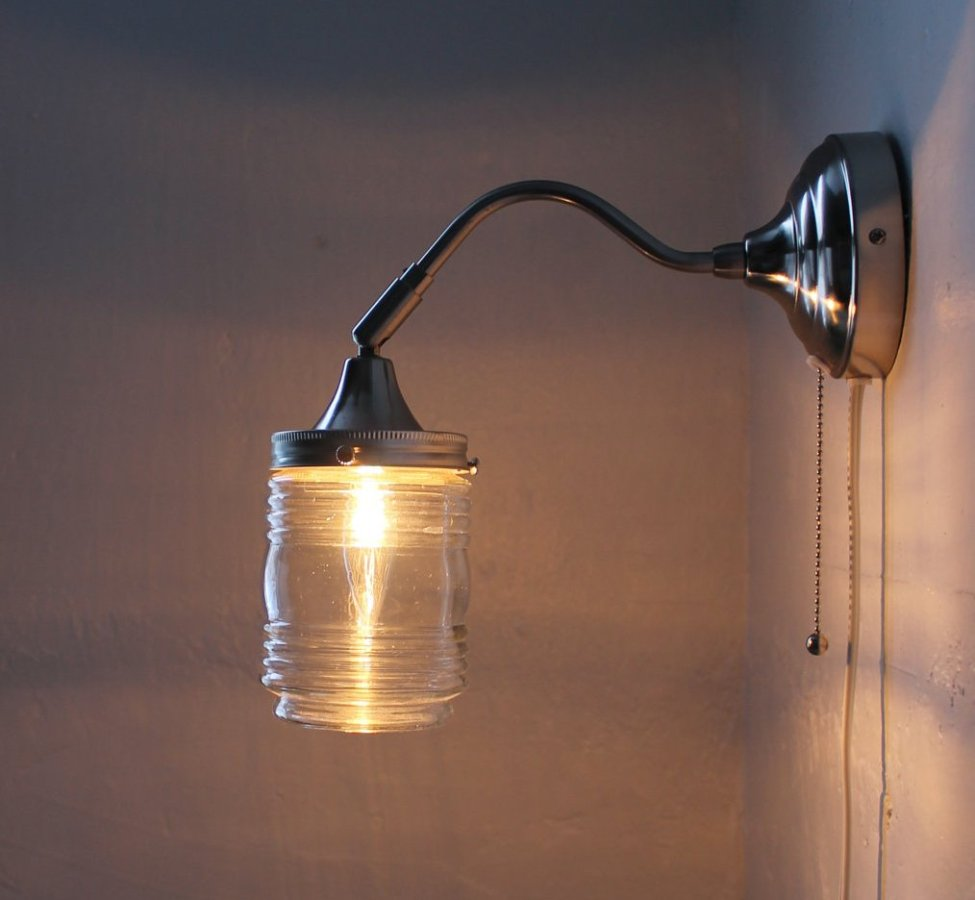 Image of: DIY Bright Wall Sconces