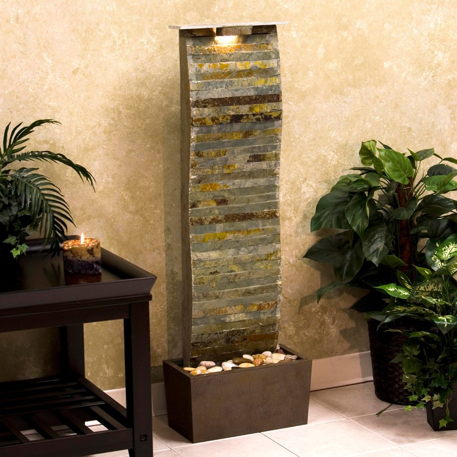 Image of: DIY Indoor Fountain Design