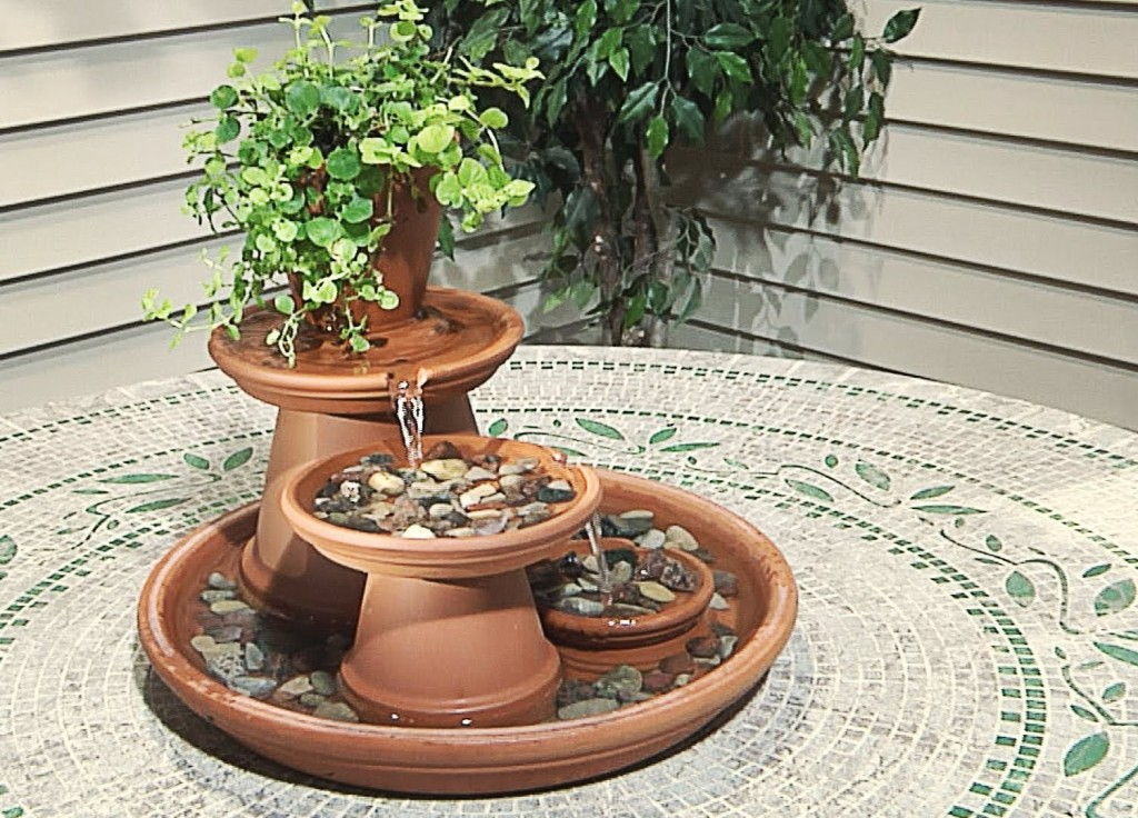 DIY Indoor Fountain Images
