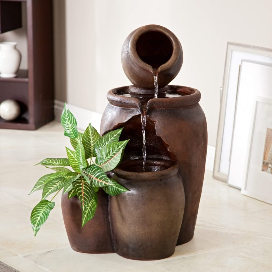 Image of: DIY Indoor Fountain Pictures