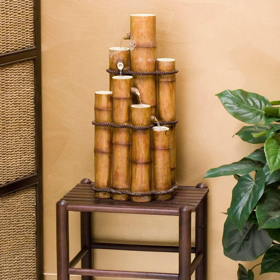 Image of: DIY Indoor Fountain Waterfall