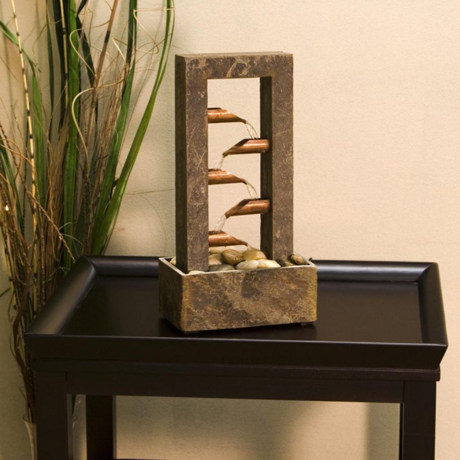 Image of: DIY Indoor Fountain for Table