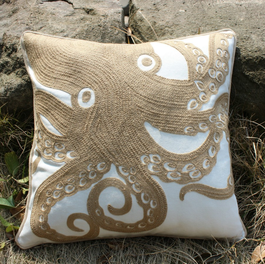 Image of: DIY Octopus Pillow