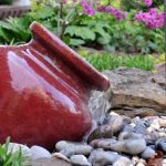DIY Outdoor Water Fountain Garden
