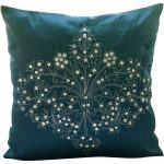 Dark Teal Throw Pillows