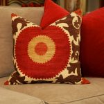 Decor Red Decorative Pillows