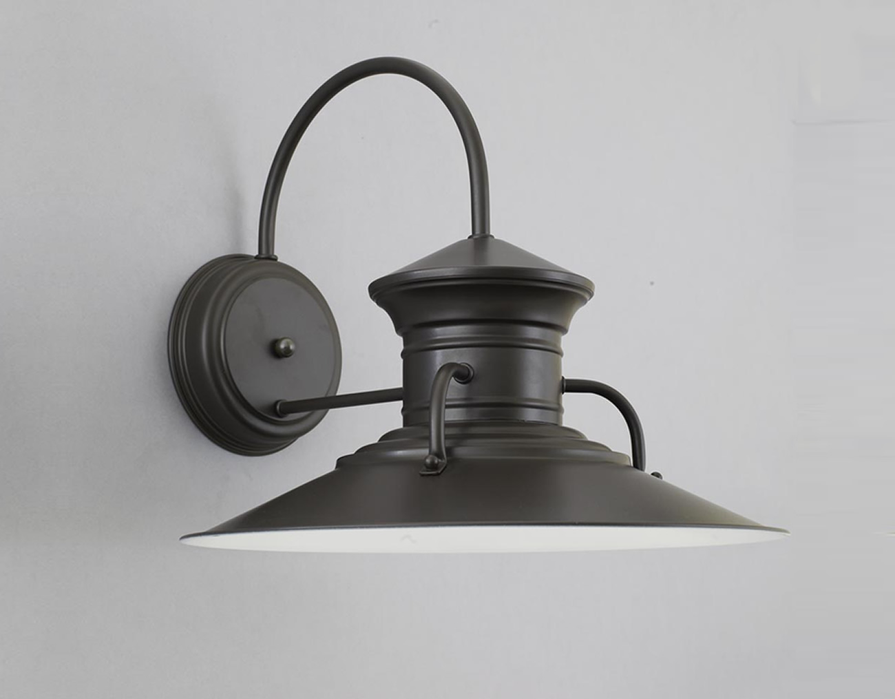 Image of: Decorative Barn Light Sconce