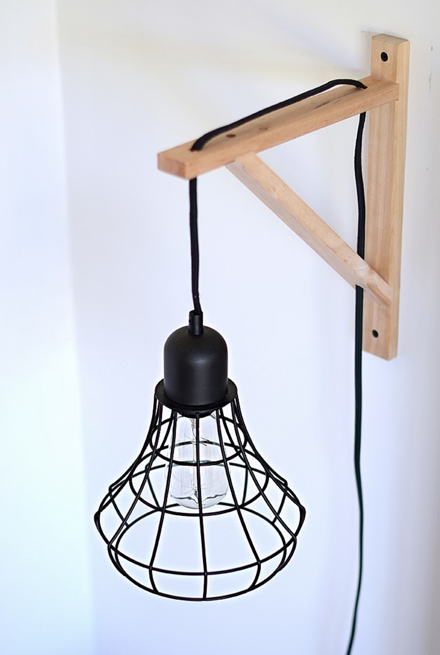 Image of: Decorative Cage Sconce