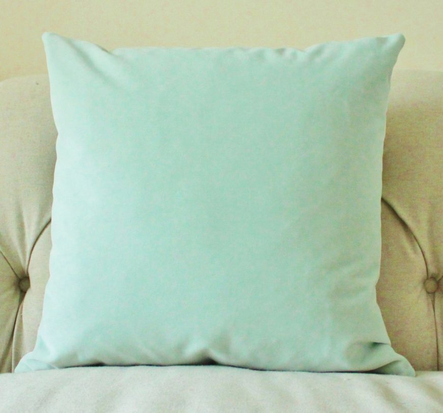 Image of: Decorative Mint Green Throw Pillows
