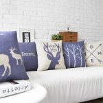 Decorative Navy Throw Pillows