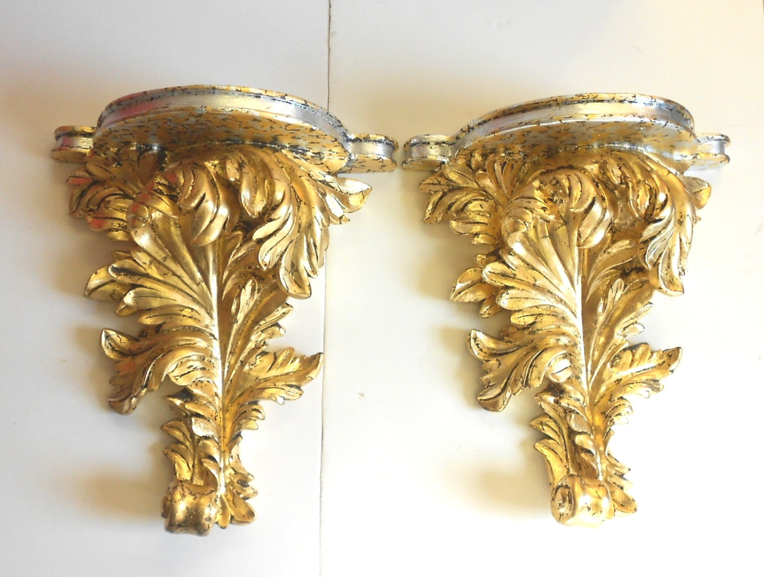 Image of: Decorative Wall Sconces Gold