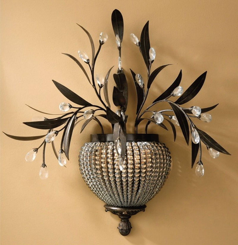 Image of: Decorative Wall Sconces Shapes