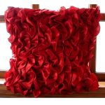 Design Red Decorative Pillows