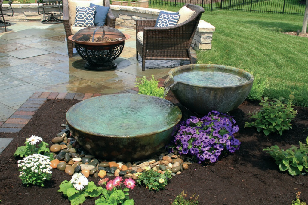 Image of: Disappearing Fountain Basin Outdoor